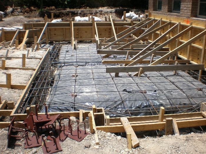 Concrete Foundation Work : Concrete work milton s drainage foundation